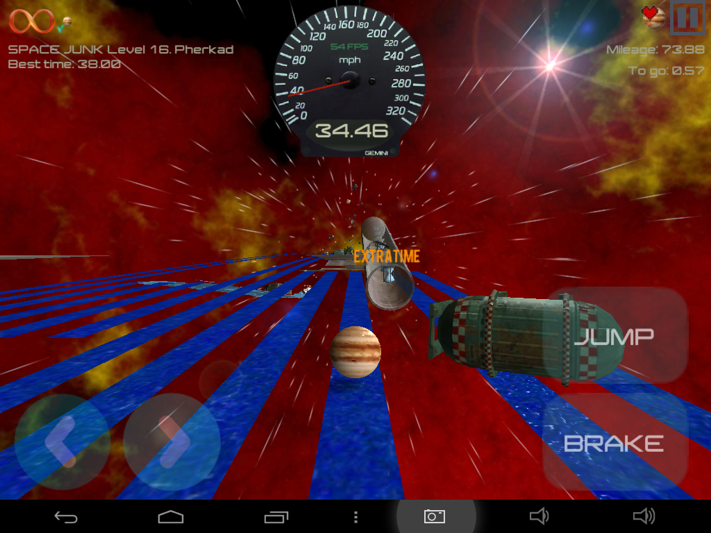 Trailbreaker Rolling Sky Ball- screenshot