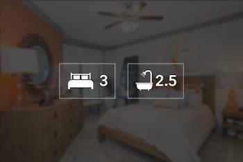 Go to Three Bed, 2.5 Bath Townhouse Floorplan page.