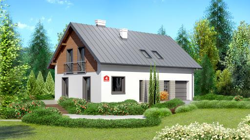 projekt Dom przy Głogowej 4