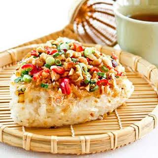 Savory Steamed Glutinous Rice.