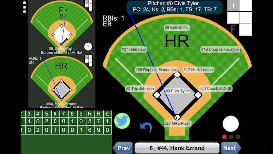 Baseball ScoreBook- screenshot thumbnail