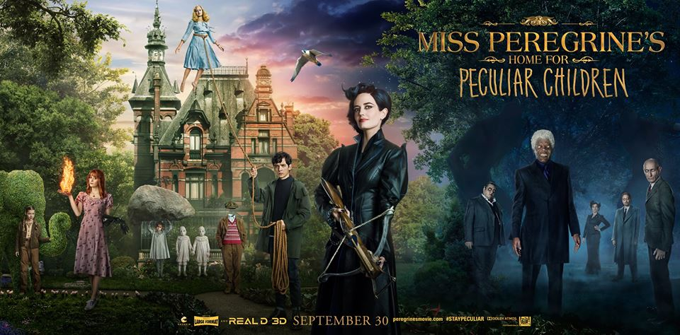 Image result for Miss peregrine home for peculiar