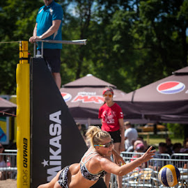 Beach volley by Simo Järvinen - Sports & Fitness Other Sports ( 2018, salo, beach volley, action, sport )