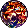 Neon Wild Animal Theme: Flaming Cheetah APK icon