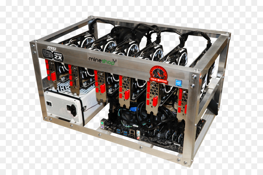 Mining hardware.