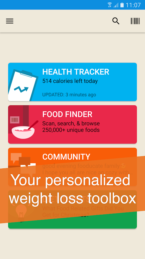 Fooducate Weight Loss Coach- screenshot