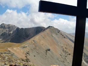 Photo: Dal Pic de Nou Creus, verso il Pic de la Vaca, 2826m.