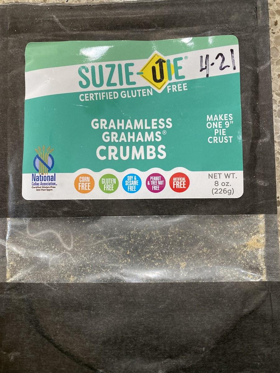 Grahamless Grahams Crumbs