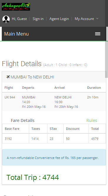 Cheap Flight Tickets Booking, Bus, Hotel, Holidays- screenshot