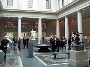 Photo: Gallery 162 - Roman Sculpture Court.  The Leon Levy and Shelby White Court evokes the grandeur that was Rome and provides a suitable setting for the sculptures that were created under Roman patronage, inspired by models from both Classical Greece and the Hellenistic kingdoms.  http://www.metmuseum.org/collections/galleries/greek-and-roman/162