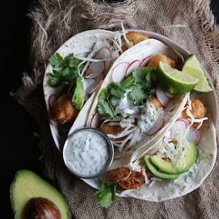 Beer Battered Fish Tacos with JalapeñO Crema Recipe