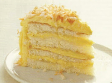 Coconut Cake With Coconut Filling & Buttercream Recipe