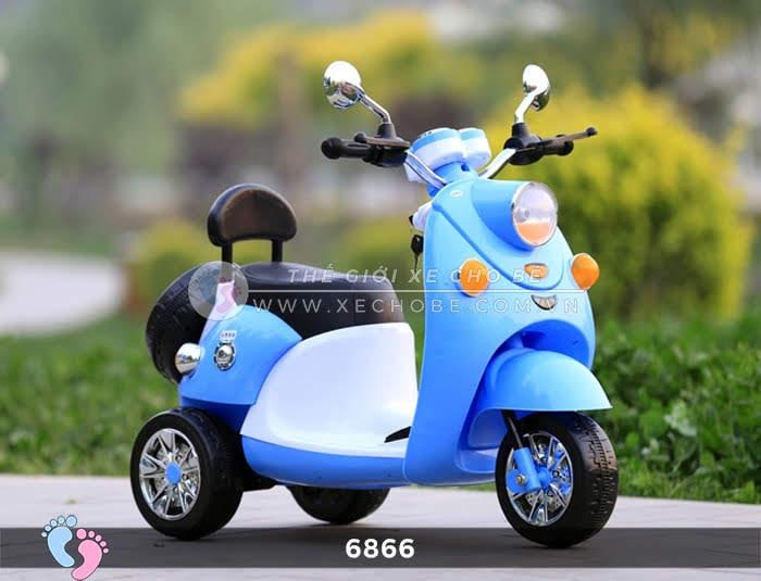 Xe máy điện cho bé Mio 6866 17