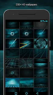 The Grid - Icon Pack (Pro Version)- screenshot thumbnail