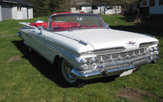 Chevrolet Impala convertible Rent Nordjylland