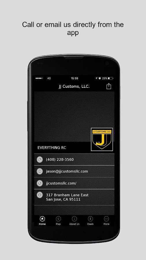 JJ Customs, LLC.- screenshot