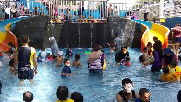Suasana kolam balita Paragon Depok