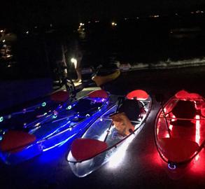Clear Bottom LED Glow Tour