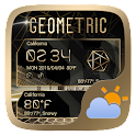 Geometric Weather Widget Theme icon