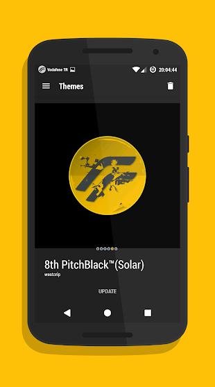 PitchBlack│Solar CM13/12- screenshot thumbnail