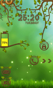 Forest Go Locker Theme screenshot 0