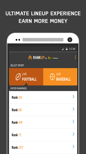 RANKUP DFS for DraftKings