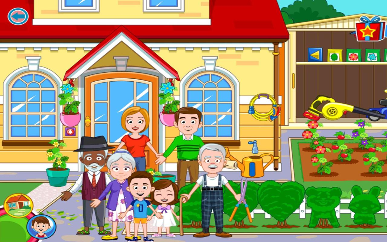My Town : Grandparents- screenshot