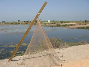 Photo: One kind of Deltebre fishing net
