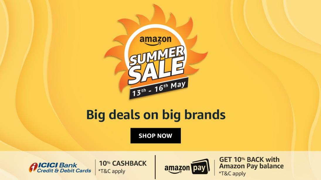 Amazon Great Indian Summer Sale 2020