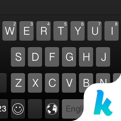 Classic Black Kika Keyboard Icon