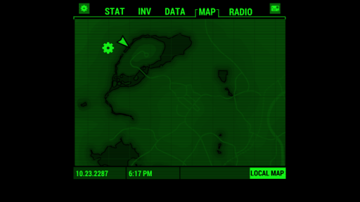 Fallout Pip-Boy Screenshot