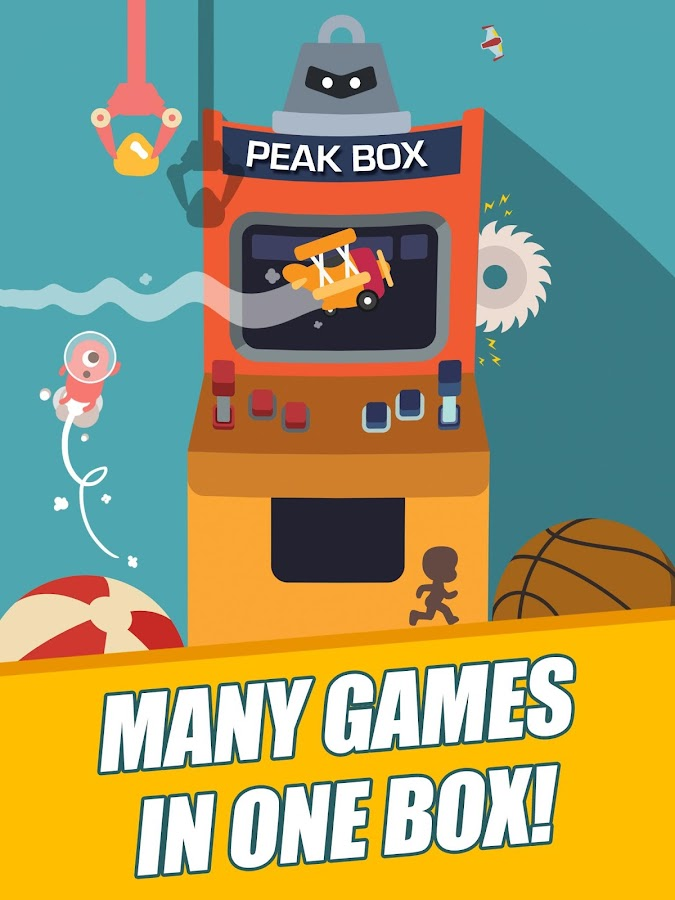 Peak Box Game Arcade Machine- screenshot