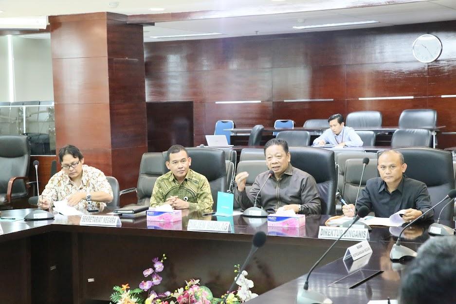Bahas Pensiun Pegawai, Badilag Gelar Rapat Koordinasi dengan BKN, Setneg dan Biro Kepegawaian MA