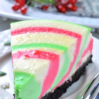 Christmas Cheesecake.