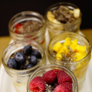Oatmeal In The Jar- On the Go Breakfast – Overnight Oatmeal.