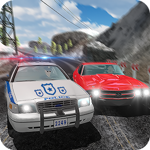Offroad US police Car City Highway Chase crime sim