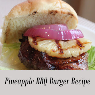 Pineapple BBQ Burger