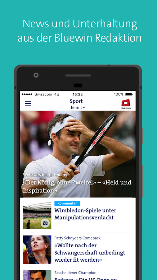 Bluewin E-Mail & News - Android Apps on Google Play