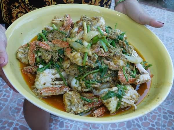 Stir Fried Crab Curry Recipe