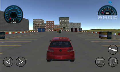 Golf Car Drift Simulator APK screenshot thumbnail 3