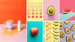 Fruity Collage - Facebook Cover Photo item