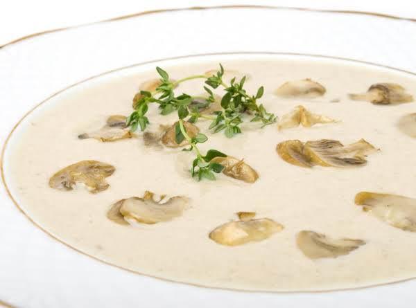 Creamy Comfort Mushroom Soup Recipe