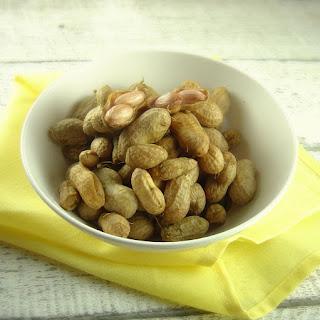 Cajun Boiled Peanuts.