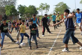 Photo: Students enjoying playing 'Beware the Pirates'