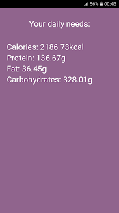 Calories & Protein Calculator - náhled