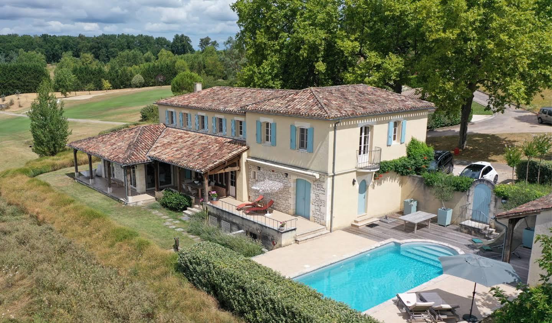 Maison avec piscine et jardin Monestier