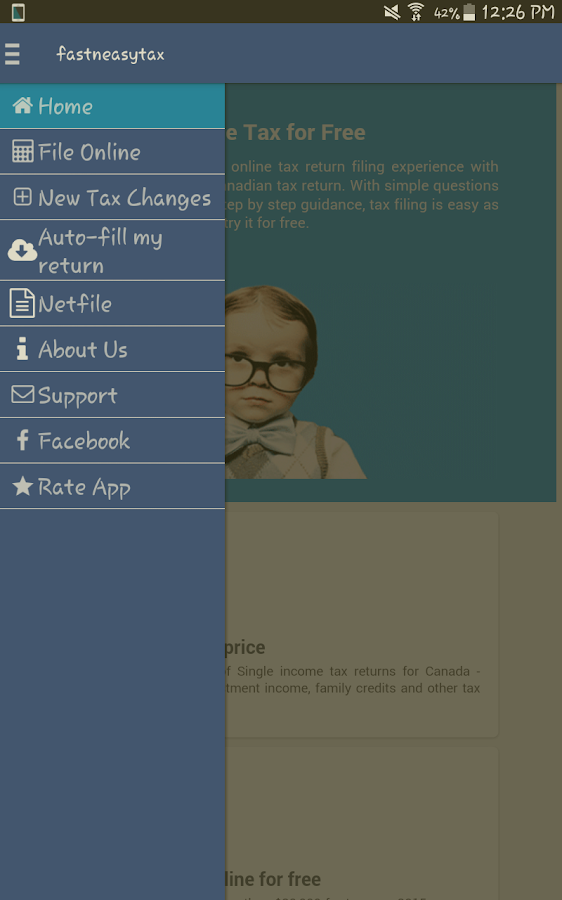 Efile canadian tax return android apps on google play efile canadian tax return screenshot ccuart Image collections