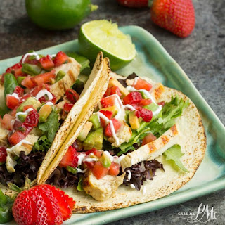 Mojito Grilled Chicken Tacos