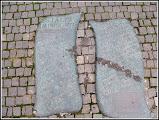 Photo: Cluj-Napoca - monumentul Stalpii Impuscati placa comemorativa - Sursa Wikipedia