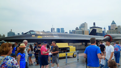 Photo: Blackbird SR-71...  The only thing my father truly came to see. ;)